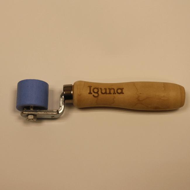 IGUNA Aandrukrol Teflon gelagerd 28 mm breed