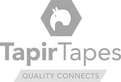 TESA 4934 tweezijdig klevend linnen tape dikte 0.2 mm Wit | Op maat gemaakt