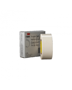 3M 5401 Traction Tape glasdoek siliconen wit afmeting 50 mm X 33 m