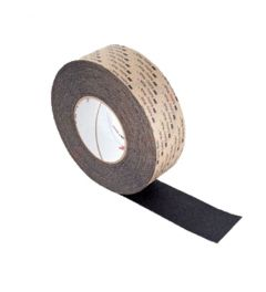 3M 610 GP enkelzijdig klevend Safety Walk antislip Tape Zwart 51 mm X 18.3 m