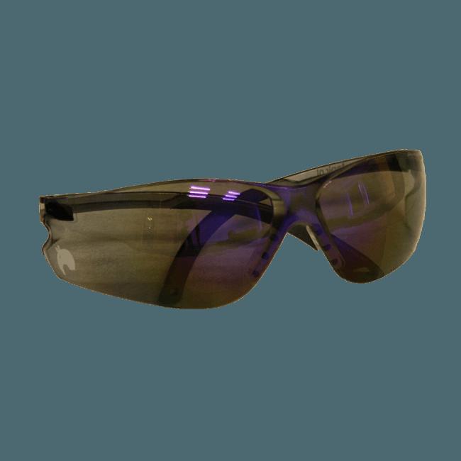 IGUNA ITEK ES5875S Veiligheidsbril kleur grijs-blauw met TAPIR logo
